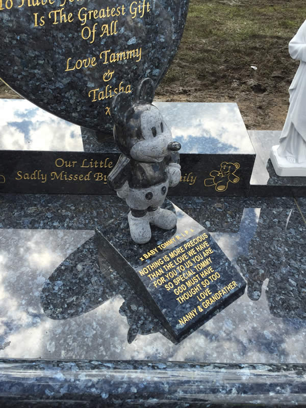 Childrens memorials headstone gallery image 1